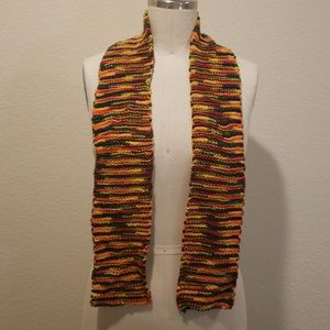 Accessories - Multi Color Handknitted Scarf